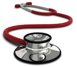 Steotscopio utile al medico competente per effettuare le visite mediche periodiche al fine di valutare l' idoenità specifica alla mansione lavorativa